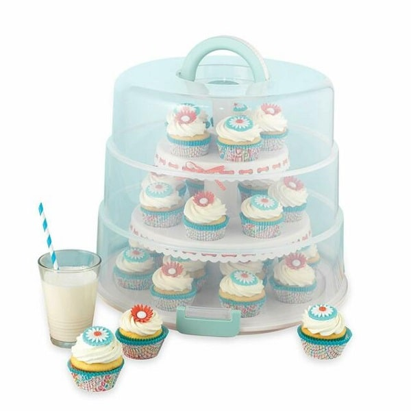 Sweet Creations 3 Tier Collapsible Cupcake Carrier