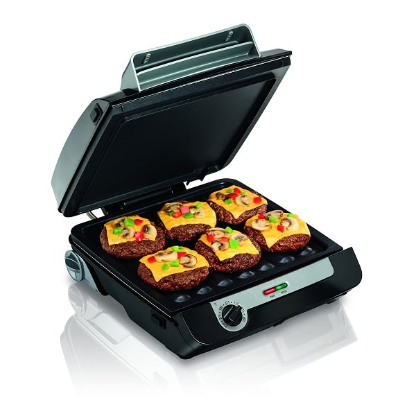 Hamilton Beach Indoor Grill, Bacon Cooker, and Electric Griddle 3-in-1